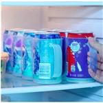 Porta Latas Plástico 1F60367 Azul Basic Kitchen