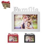 Porta Retrato 10x15 com Moldura de Plastico Familia Horizontal Colors