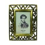 Porta-retrato 10x15 Folhas Douradas