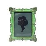 Porta-retrato 15x20 Verde e Branco