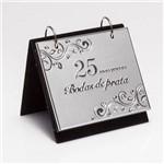 Porta Retrato Bodas de Prata com Álbum