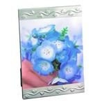Porta-retrato Clip 10x15 Prata Escovado