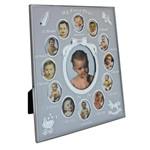 Porta Retrato de Aluminio 20X25CM C/13 Aberturas