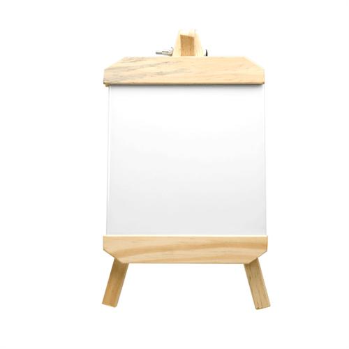 Porta Retrato de Madeira com Azulejo para Sublimação Unidade