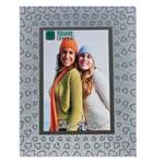 Porta Retrato de Vidro Gliter 20x25 Cm