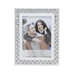 Porta Retrato Diamond Branco 10X15 - F9-12626