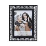 Porta Retrato Diamond Preto 20X25 - F9-12625