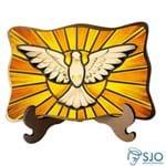 Porta-Retrato Divino Espírito Santo - Modelo 2 | SJO Artigos Religiosos