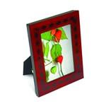 Porta Retrato em MDF 10x15 Vermelho Decorado