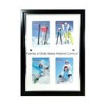 Porta Retrato Familía Colors para 4 Fotos 10x15