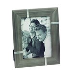 Porta-retrato Granito Borda Larga 15x20 Cinza