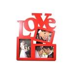 Porta Retrato Love Colorspara 03 Fotos