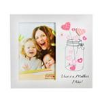 Porta Retrato Melhor Mãe Branco 10x15 Cm Foto Moldura Mesa