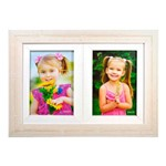 Porta Retrato Riscadinha para 02 Fotos 10x15 Cm
