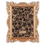 Porta Retrato Rococo Ouro Rose 10x15cm 5505 Mart