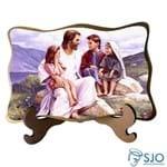 Porta-Retrato Rosto de Jesus - Modelo 1 | SJO Artigos Religiosos