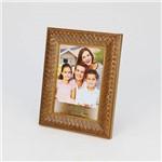 Porta Retrato Rustic Dourado 10x15