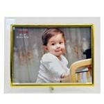 Porta Retrato Vidro Reto 20x15 Cm Foto Moldura Parede Mesa