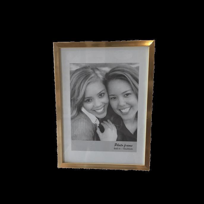 Porta Retratos Dourado Médio 15X20CM