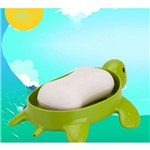 Porta Sabonete Tipo Tartaruga B925 Verde Basic Kitchen