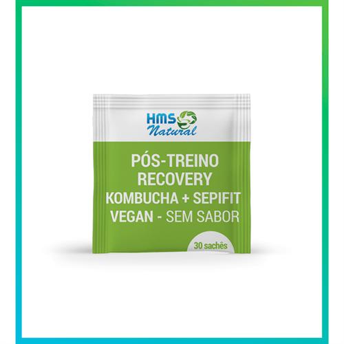 Pós Treino Recovery Kombucha + Sepifit Vegan 30 Sachês Sem Sabor