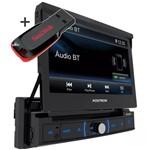 Pósitron DVD Retrátil Sp6330bt Bluetooth Espelhamento Micro Sd + Pendrive