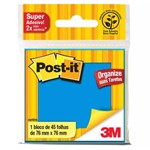 Post-it Azul 7,6cmx7,6cm 3m