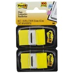 Post-It Flags 25,4 X 43,2 Mm Amarelo com 100 Unidades 3M