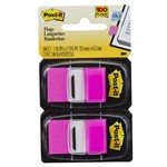 Post-it Flags 25,4 X 43,2 Mm Rosa com 100 Unidades 3m