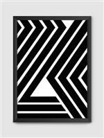 Poster Black A3 C/ Moldura