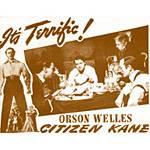 Pôster Cidadão Kane Orson Welles