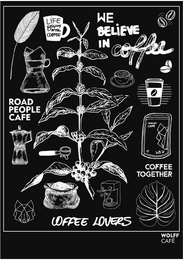 Poster - Coffee Together Poster -coffee Together