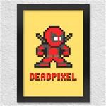 Poster com Moldura Deadpixel
