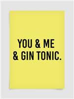 Poster Gin Tonic A2