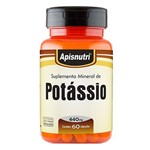 Potássio - 60 Cápsulas - Apisnutri