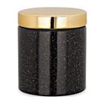 Pote de Cerâmica Preto Pequeno Hahashiro 9075 Mart