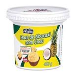 Pote de Doce de Abacaxi com Côco 400g Alispec