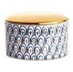 Pote Decorativo de Cerâmica Peacock Mart