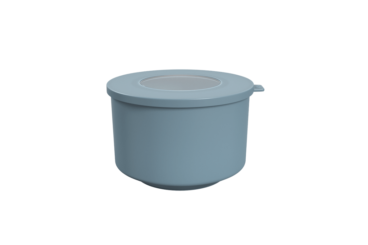 Pote Hoop 1L 14,9x16x9,7ccm Azul Fog Coza