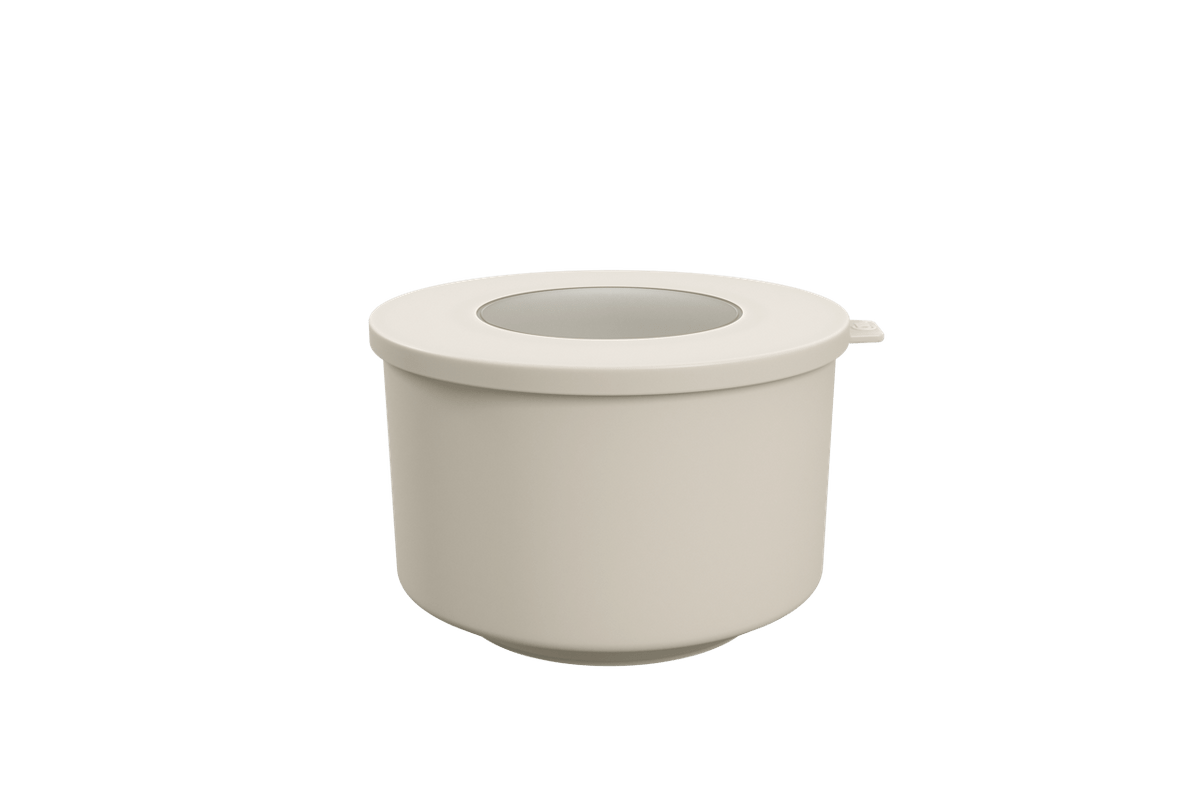 Pote Hoop 1L 14,9x16x9,7ccm Light Gray Coza