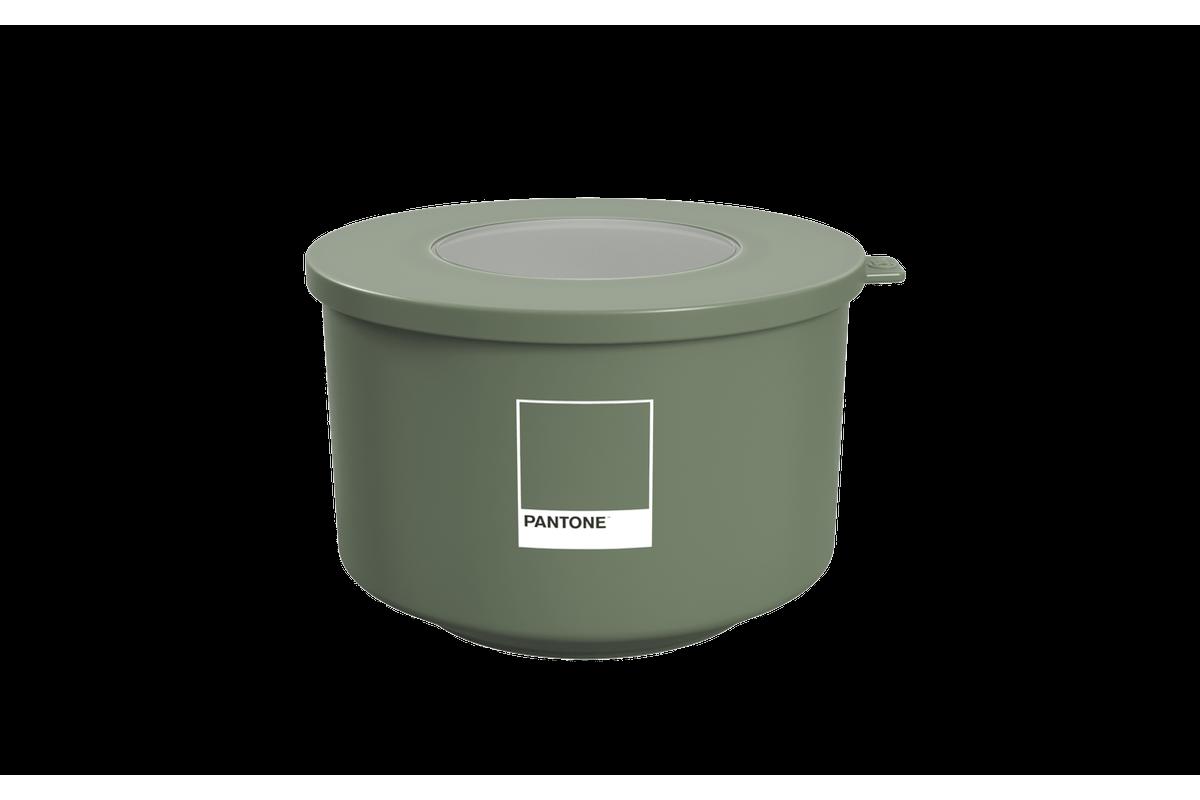 Pote Hoop 1L 14,9x16x9,7ccm Verde Pantone Coza