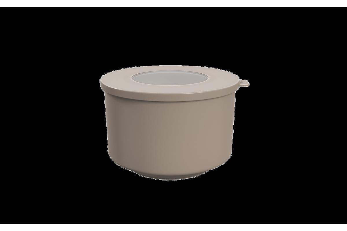 Pote Hoop 1L 14,9x16x9,7ccm Warm Gray Coza