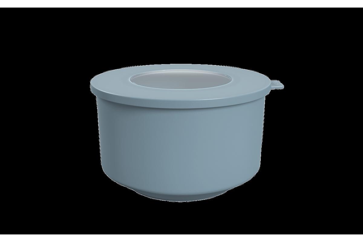 Pote Hoop 2L 18,3x19,6x11cm Azul Fog Coza
