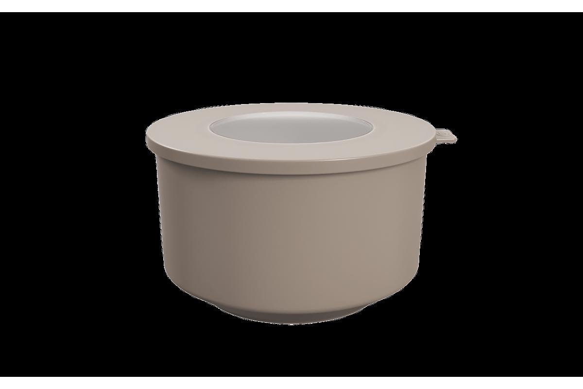Pote Hoop 2L 18,3x19,6x11cm Warm Gray Coza