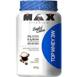 Pote Top Whey 3w Limited Edition 900g Sabores - Max Titanium