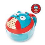 Potinho de Lanche Skip Hop Snack Cup Coruja Zoo Azul A-22-005