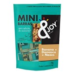 Pouch Mini Barras de Nuts Zero Banana, Damasco e Nozes 70g - Agtal &Joy