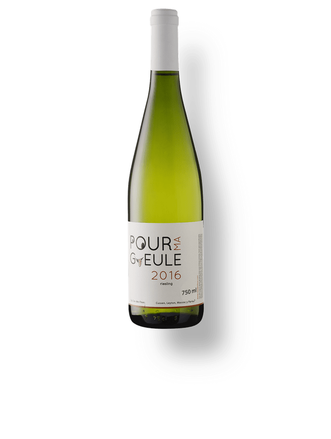 Pour Ma Gueule Riesling 2016
