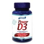 Power D3 - Sup. de Cálcio a Base de Vitamina D - 120 Cápsulas 400 Mg