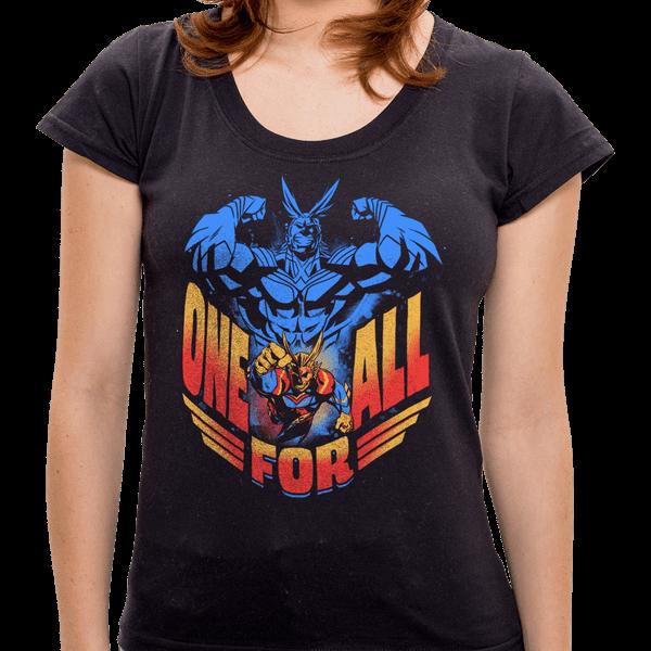 PR - Camiseta All Might - Feminina - P
